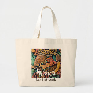Mexico - Land of Gods Large Tote Bag