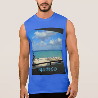 Mexico Mens Ultra Sleeveless T-shirt