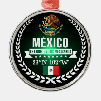 Mexico Metal Ornament