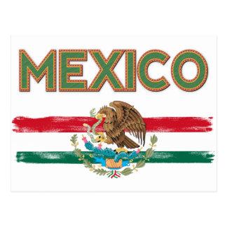 Mexico Mexican Flag Postcard