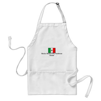 Mexico Mexico City Northwest LDS Mission Apron