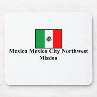 Mexico Mexico City Northwest LDS Mission Mousepad