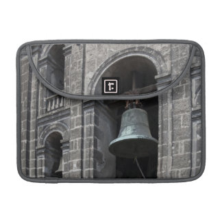 Mexico, Mexico City, Zocalo. The Bell Towers Sleeves For MacBooks