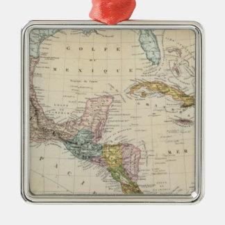 Mexico, Panama, Central America Metal Ornament