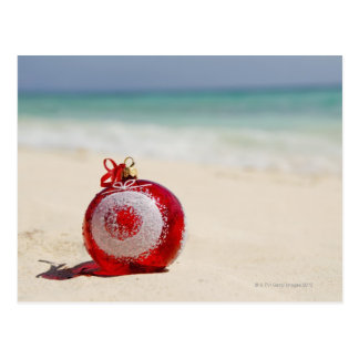 Mexico, Playa Del Carmen, christmas decoration Postcard