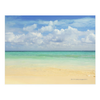 Mexico, Playa Del Carmen, seascape 2 Postcard