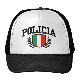 Mexico Policia Trucker Hat