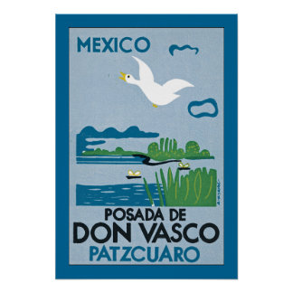 Mexico - Posada de Don Vasco Poster