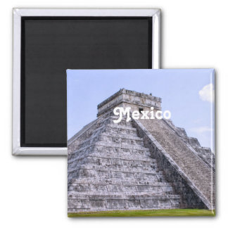Mexico Ruins Magnet