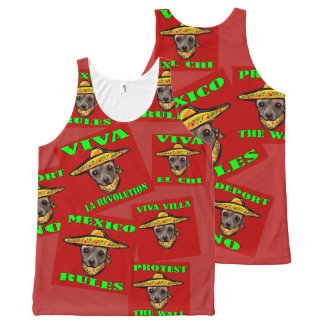 MEXICO RULES All-Over-Print TANK TOP