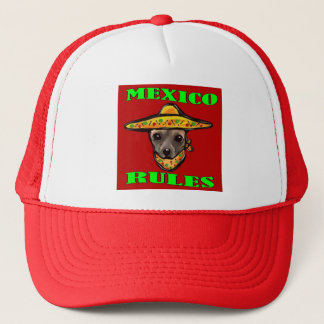 MEXICO RULES TRUCKER HAT