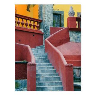 Mexico, San Miguel de Allende, Colorful Postcard