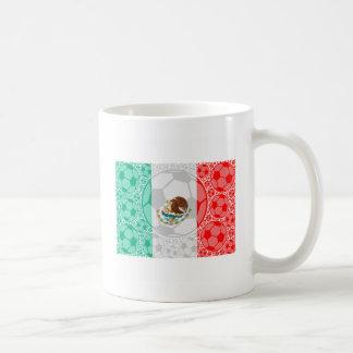Mexico soccer balls coffee mug