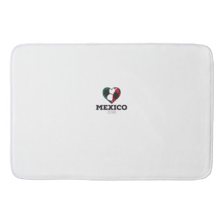 Mexico Soccer Shirt 2016 Bath Mat