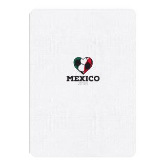 Mexico Soccer Shirt 2016 Card