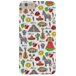 Mexico | Symbols Pattern Barely There iPhone 6 Plus Case