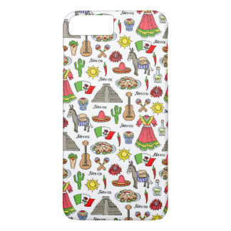 Mexico | Symbols Pattern Case-Mate iPhone Case