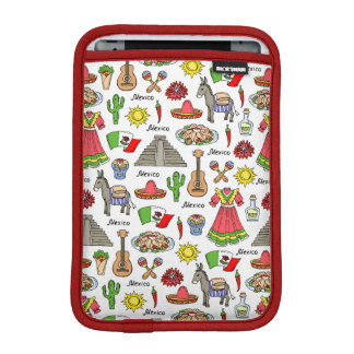 Mexico | Symbols Pattern iPad Mini Sleeve
