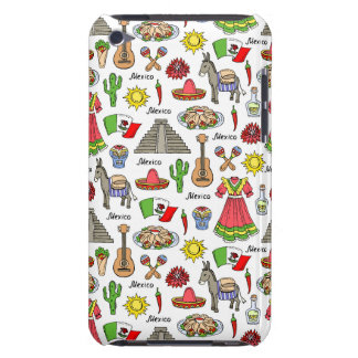 Mexico | Symbols Pattern iPod Touch Covers