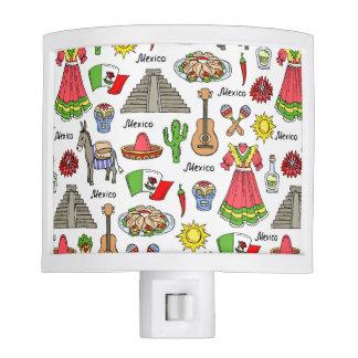 Mexico   Symbols Pattern Nite Light