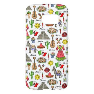 Mexico | Symbols Pattern Samsung Galaxy S7 Case