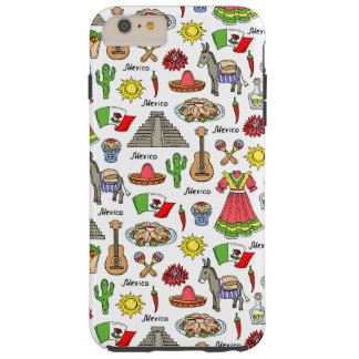Mexico | Symbols Pattern Tough iPhone 6 Plus Case