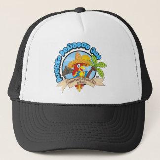 Mexico Travel Parrot Trucker Hat