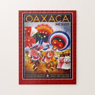 Mexico Travel Poster jigsaw Puzzle
