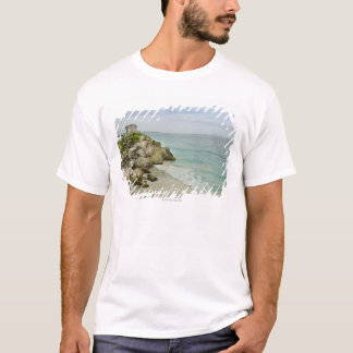 Mexico, Tulum, ancient ruins on beach T-Shirt