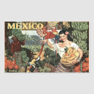 Mexico vintage image sticker