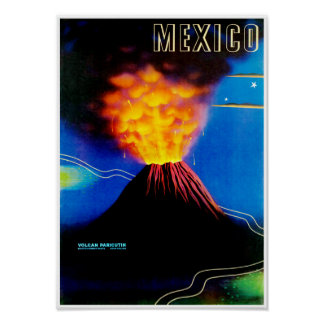 Mexico ~ Volcan Paricutin Poster