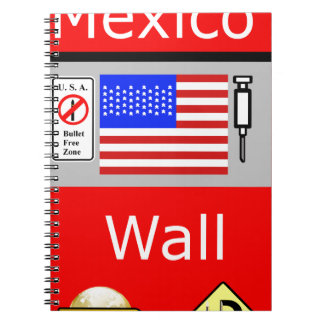 Mexico Wall Notebook