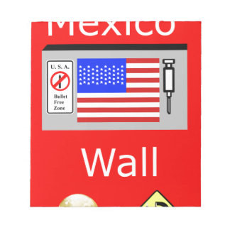 Mexico Wall Notepad