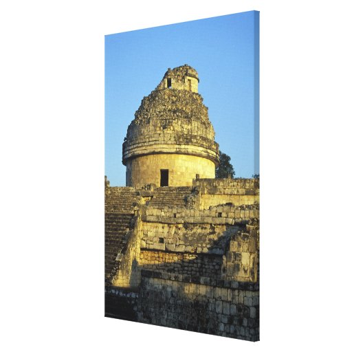 Mexico, Yucatan. Caracol: astronomical Stretched Canvas Prints