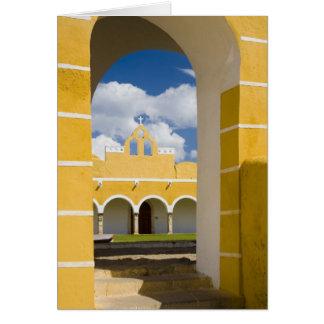 Mexico, Yucatan, Izamal. The Franciscan Convent 2 Greeting Card