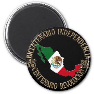 Mexico's Bicentennial & Centennial Celebration Magnet