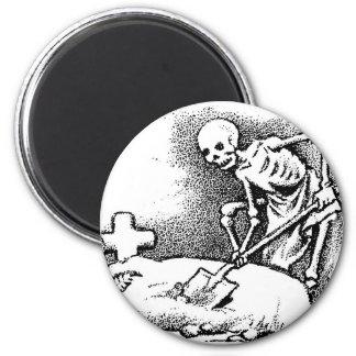 "Mexico's ""Day of the Dead"" circa 1949 Fridge Magnet"
