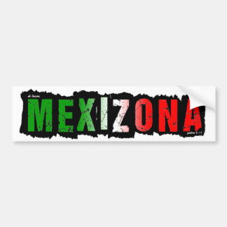 MEXIZONA BUMPER STICKER
