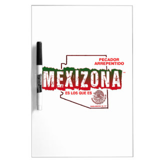 MEXIZONA DRY ERASE BOARD