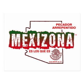 MEXIZONA POSTCARD