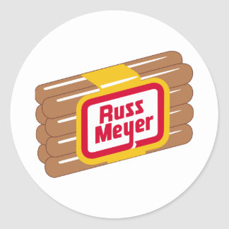 Meyer Hot Dogs Round Sticker
