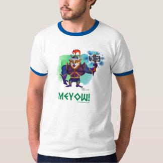MEYOW! Cat Warrior T T-Shirt