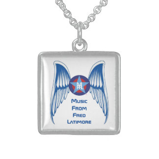 MFFL - Small Sterling Silver Square Necklace