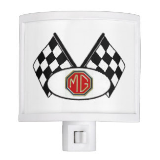 MG Checkered Flag Nightlight Night Lite