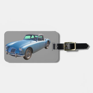 MG Convertible Sportscar Luggage Tag