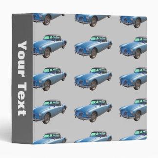 MG Convertible Sportscar Vinyl Binders