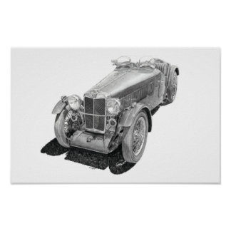 MG L2 Magna 1933 Poster