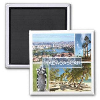 MG * Madagascar - Antananarivo Square Magnet