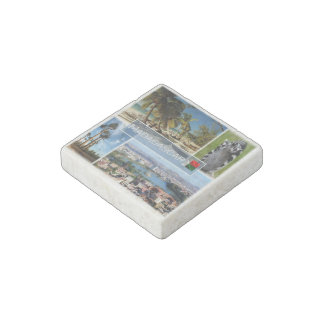 MG Madagascar - Indian Ocean - Ring Tailed Stone Magnets