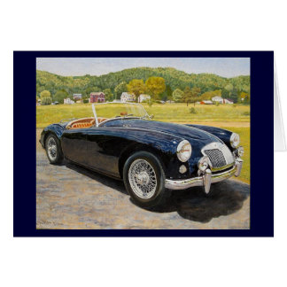 MG MGA Notecards Card